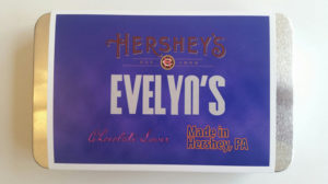 Evelyn's Original Chocolate Wrapper from Hershey's Chocolate World brand experience