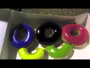 Olympic Rings Donut Formation, For Better Marketing Channel Your Inner Three Year Old