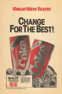 New Coke Ad from 1985 Change for the best