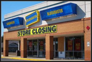 Blockbuster store closing image