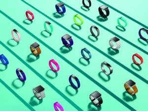 array of FitBit products