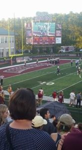 Fisher Stadium at Lafayette College - football game in progress
