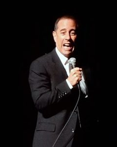 Image of Jerry Seinfeld by slgckgc CC BY 2.0 via Wikimedia Commons