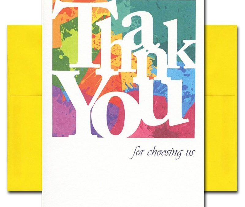The High ROI of Handwritten Thank You Notes