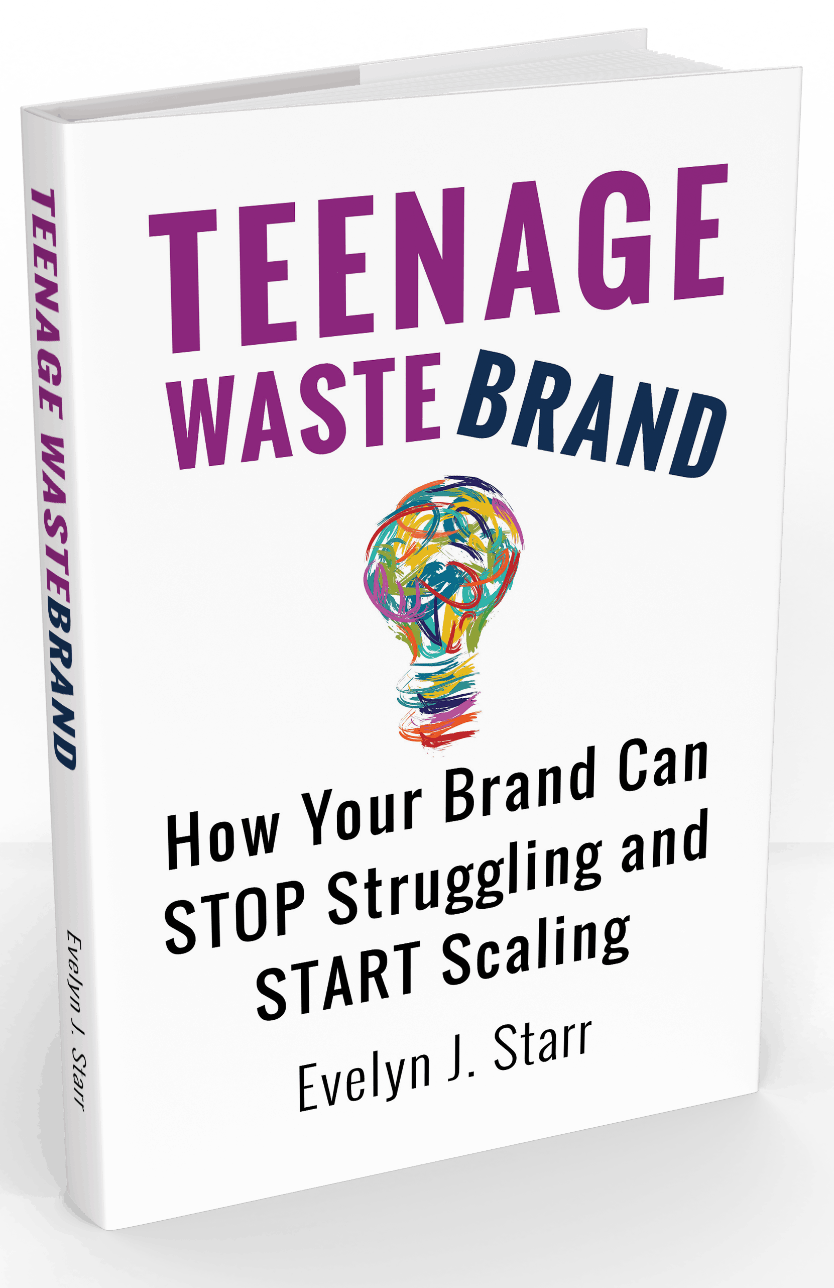 Teenage Wastebrand book cover